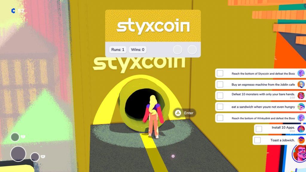 Enter Styxcoin.