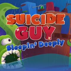 Suicide guy sleepin' Deeply