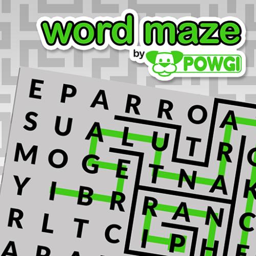 Word maze by POWGI