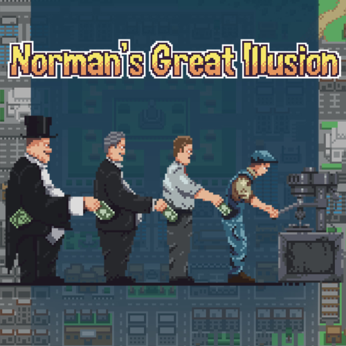 Norman's great illusion, normans great illusion